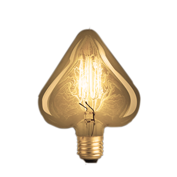 Lâmpada de Filamento de Carbono Heart Squirrel Cage 40W 220V