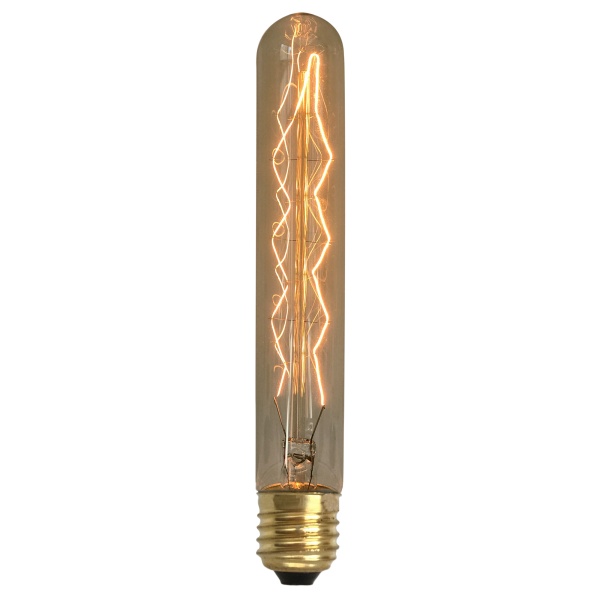 Lâmpada de Filamento de Carbono T30*185 Leaf 40W 110V
