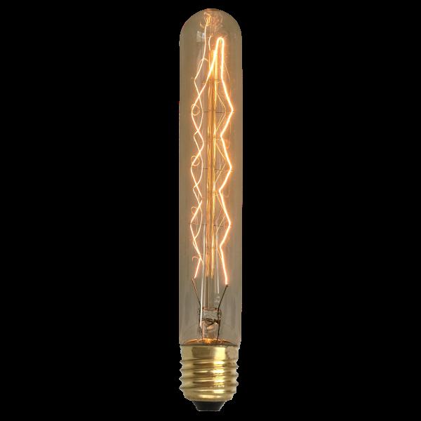 Lâmpada de Filamento de Carbono T30*185 Leaf 40W 220V