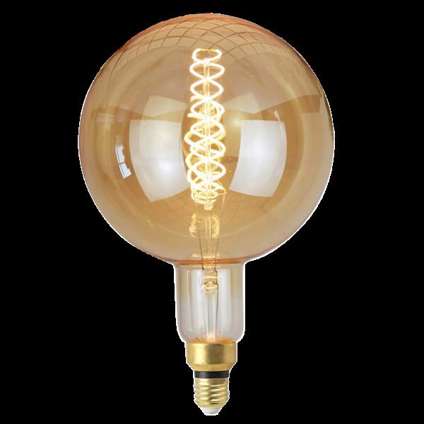 Lâmpada de Filamento de LED G200 Supersize Squirrel Cage Cage 4W Bivolt