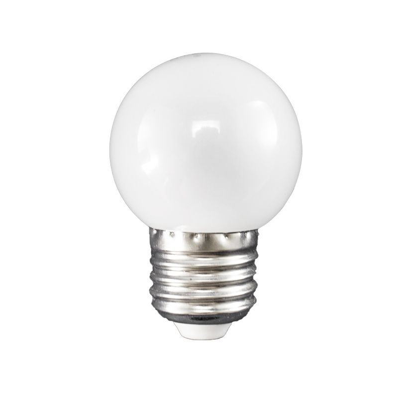Lâmpada Led Bolinha 1W 110V Branco Frio