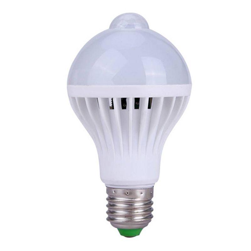 Lâmpada Led Bulbo 12W Com Sensor De Presença