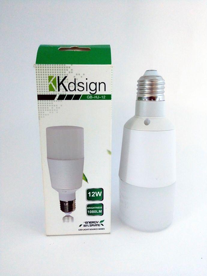 Lâmpada LED Bulbo Cilíndrica 12W Branco Frio 6000K