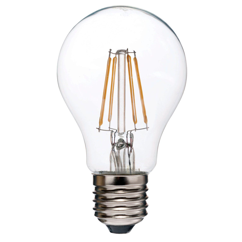 Lâmpada LED Filamento 4W Bulbo A60 Âmbar E27