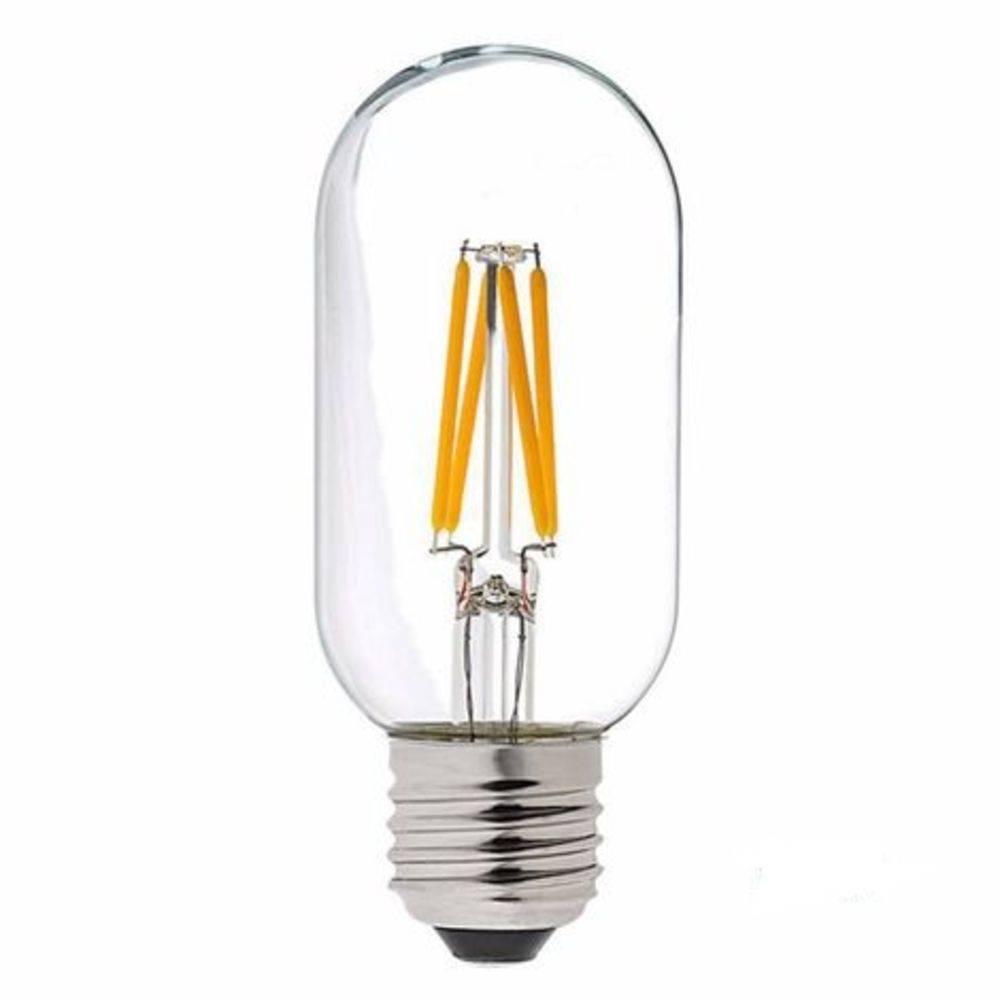 Lâmpada LED Filamento 4W T45 Âmbar E27