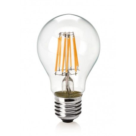Lâmpada LED Filamento 6W Bulbo A60 Âmbar E27