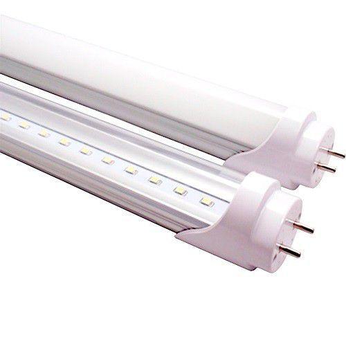 Lâmpada Led Tubular T8 09W 60 cm bivolt Branco Frio Transparente