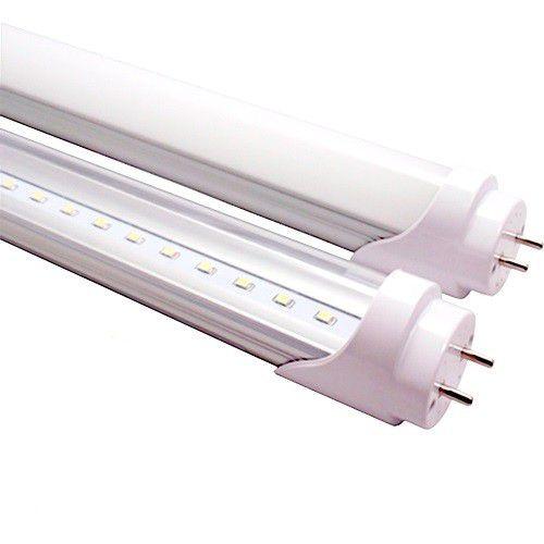 Lâmpada Led Tubular T8 18W 120 cm bivolt Branco Frio Transparente