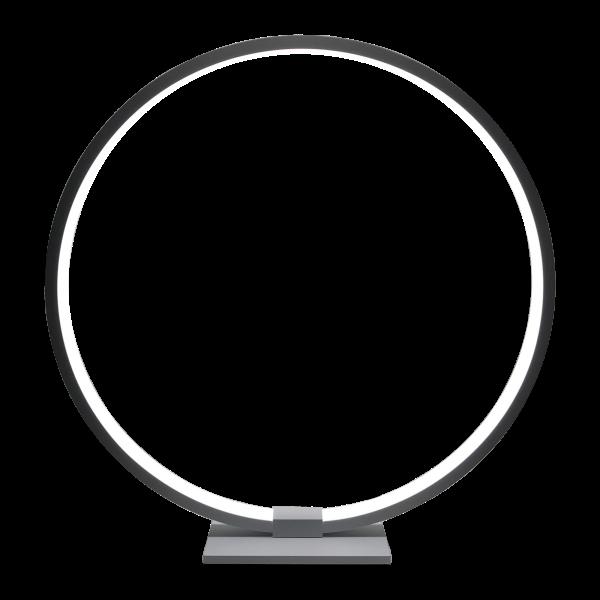 Luminária DECOR - Luminária Redonda de Mesa Bivolt Branca 12,5W Branco Neutro