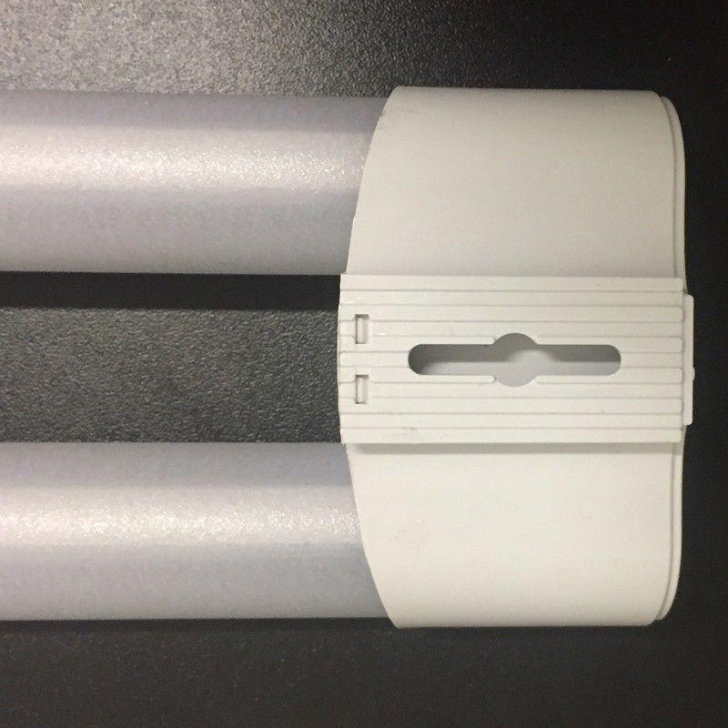 Luminária Led Dupla 36W 120CM Duoline Elgin Branco Frio