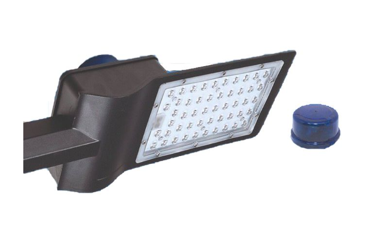 Luminária para Iluminação Pública 100W com Relé Fotocélula