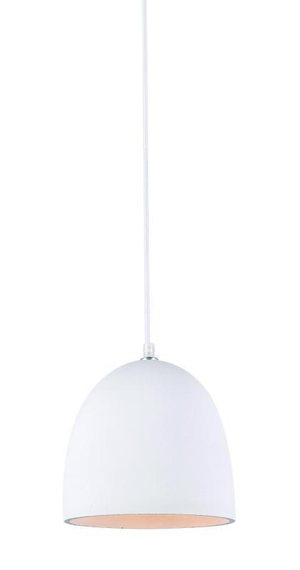 Lustre Pendente Adely 20 cm Concreto Branco