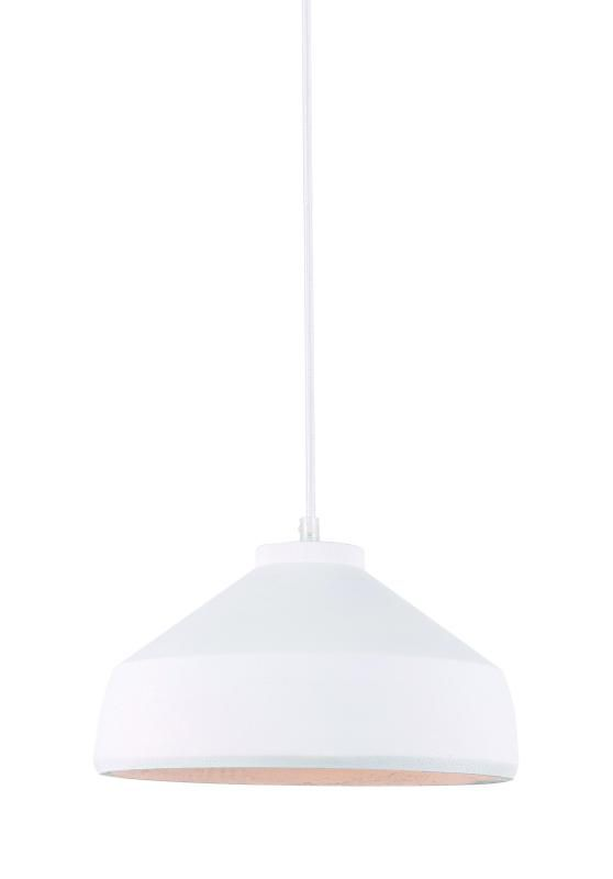 Lustre Pendente Adely 28,5 cm Concreto Branco