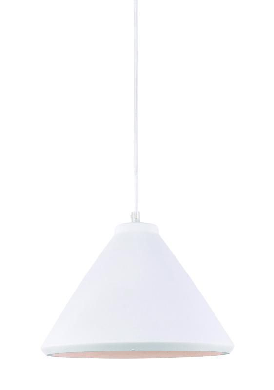 Lustre Pendente Adely 29 cm Concreto Branco