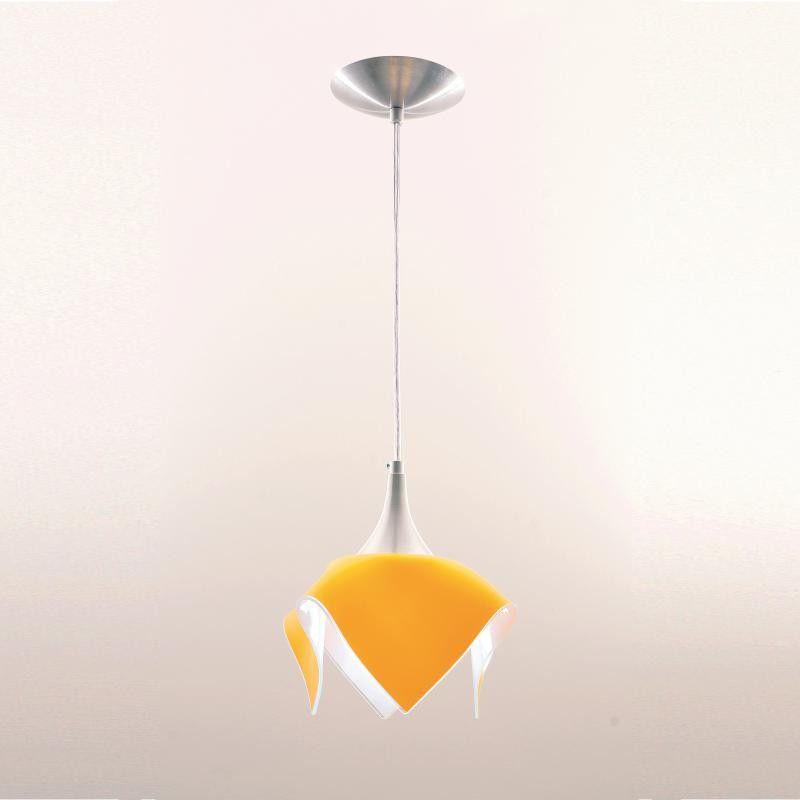 Lustre Pendente Color - Amarelo Auremar