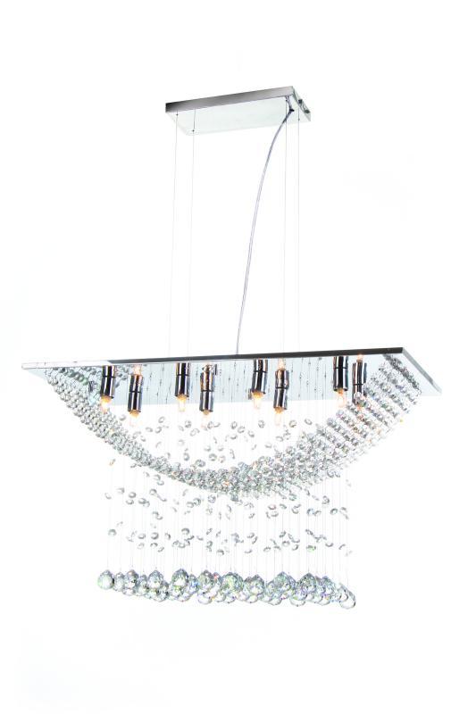 LUSTRE PENDENTE PARIS P/LAMP G9 AUREMAR