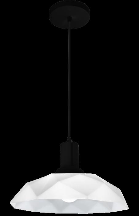 Lustre Pendente Sides M3 E27 Preto Com Copo Preto Startec
