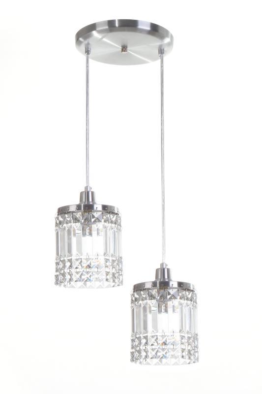 Lustre Pendente York P/2 Lamp.G9 Auremar