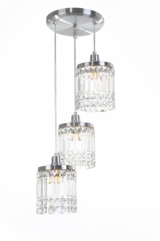 Lustre Pendente York P/3 Lamp.G9 Auremar