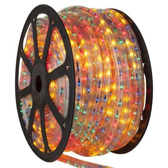 Mangueira Fita 110V LED RGB Rolo 100m com 4 tomadas