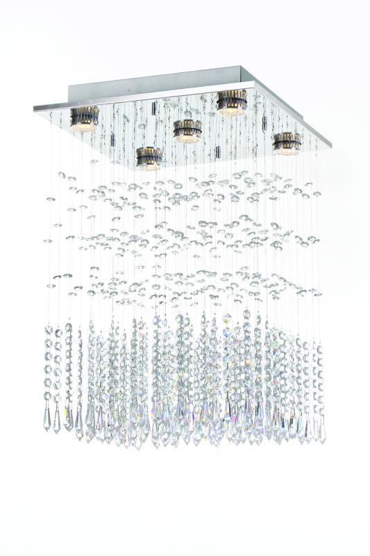PLAFON LAVINE P/5 LAMP GU10 AUREMAR
