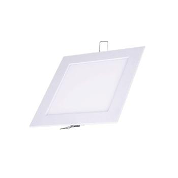 Plafon Led de EMBUTIR QUADRADO <br/>06W - 12,5 x 12,5 cm Quente 3000K