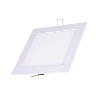 Plafon Led de EMBUTIR QUADRADO <br/>12W - 17 x 17 cm Branco Frio 6000K