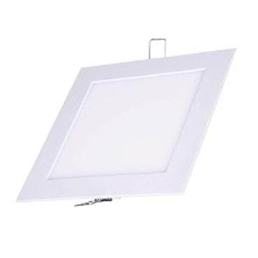 Plafon Led de EMBUTIR QUADRADO <br/>18W - 22 x 22 cm Branco Frio 6000K