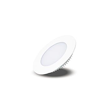 Plafon Led de EMBUTIR REDONDO <br/>03W - 08 cm Branco Frio 6000K