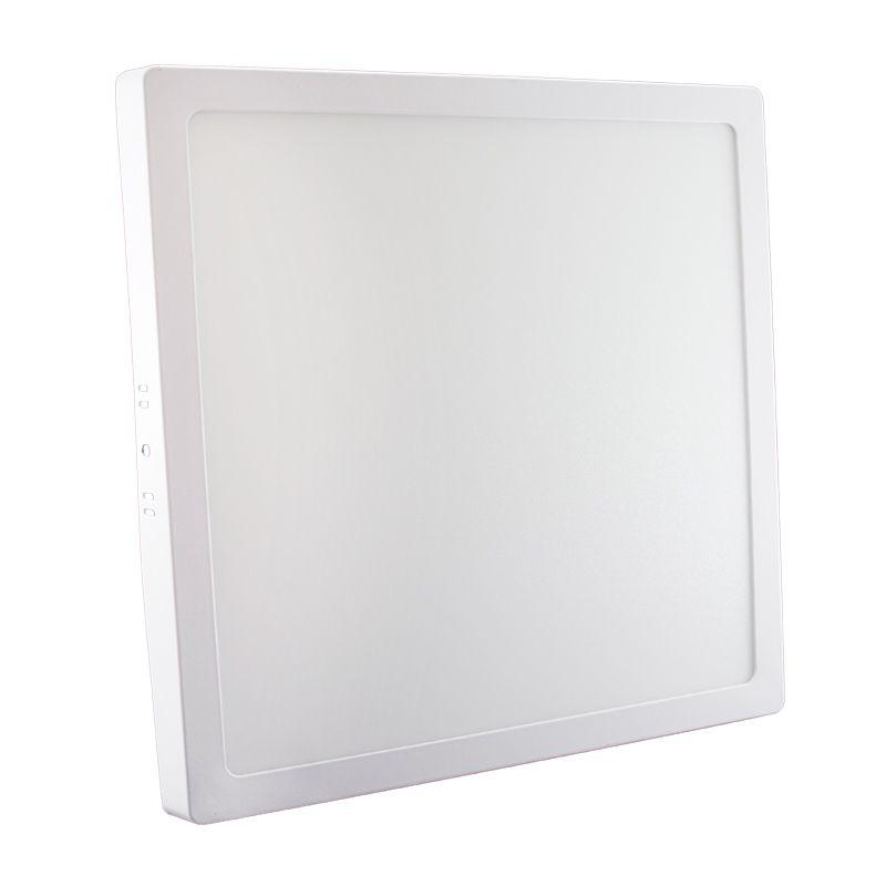 Plafon Led de Sobrepor Quadrado <br/>24W - 30 x 30 cm Morno 4000K