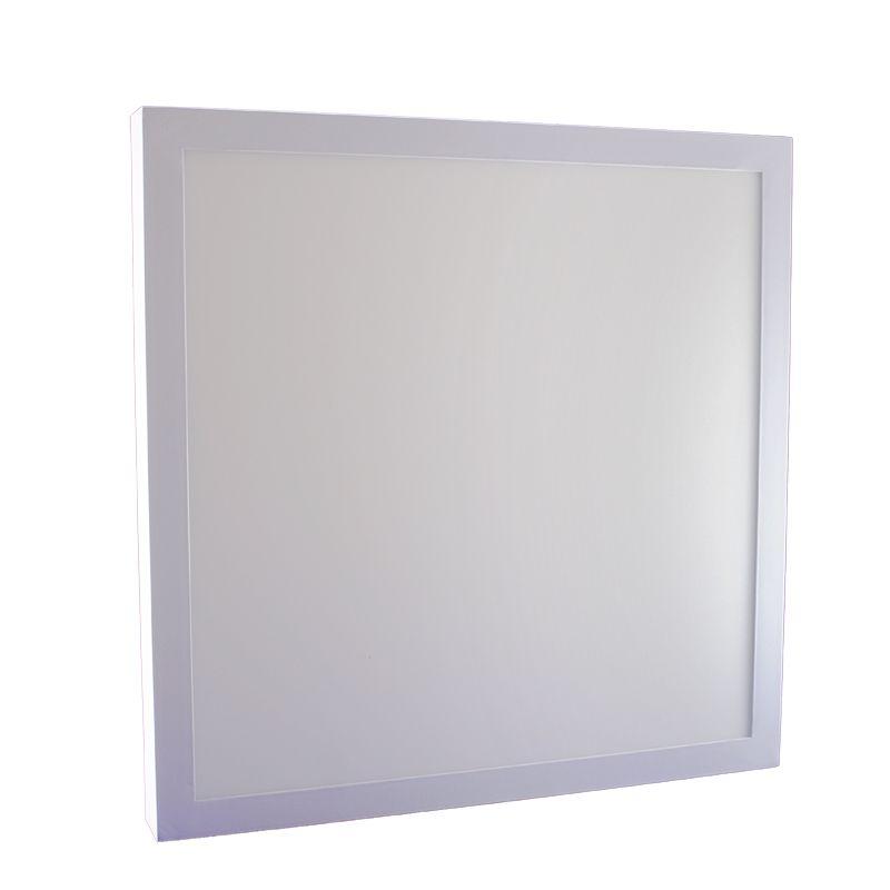 Plafon Led de Sobrepor Quadrado <br/>36W - 40 x 40 cm Branco Frio 6000K