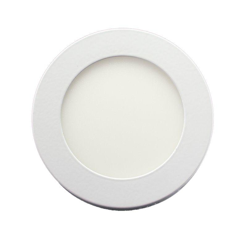 Plafon Led de Sobrepor Redondo <br/>06W - 12 cm Branco Frio 6000K