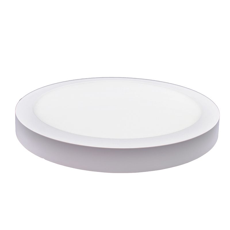Plafon Led de Sobrepor Redondo <br/>32W - 30 cm Branco Frio 6000K