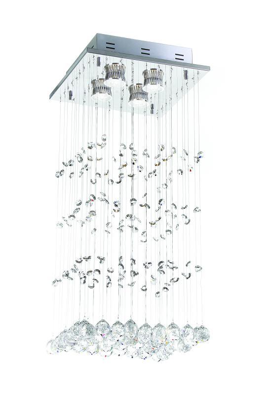 PLAFON MOLINE P/ 4 LAMP GU10 AUREMAR