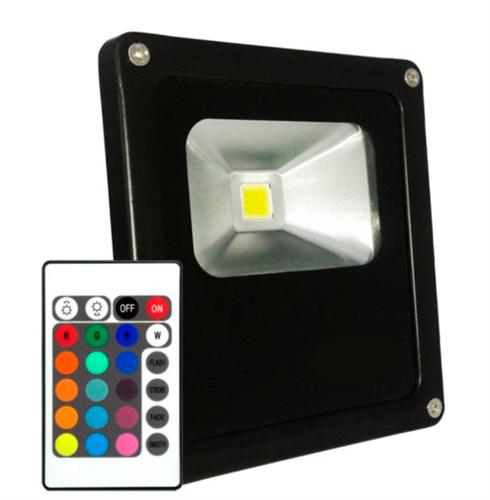 Refletor Led 20W RGB Uso Externo