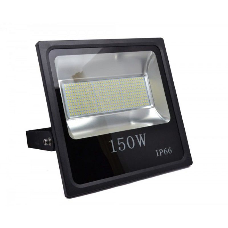 Refletor Holofote Led Slim SMD 150W Super Branco