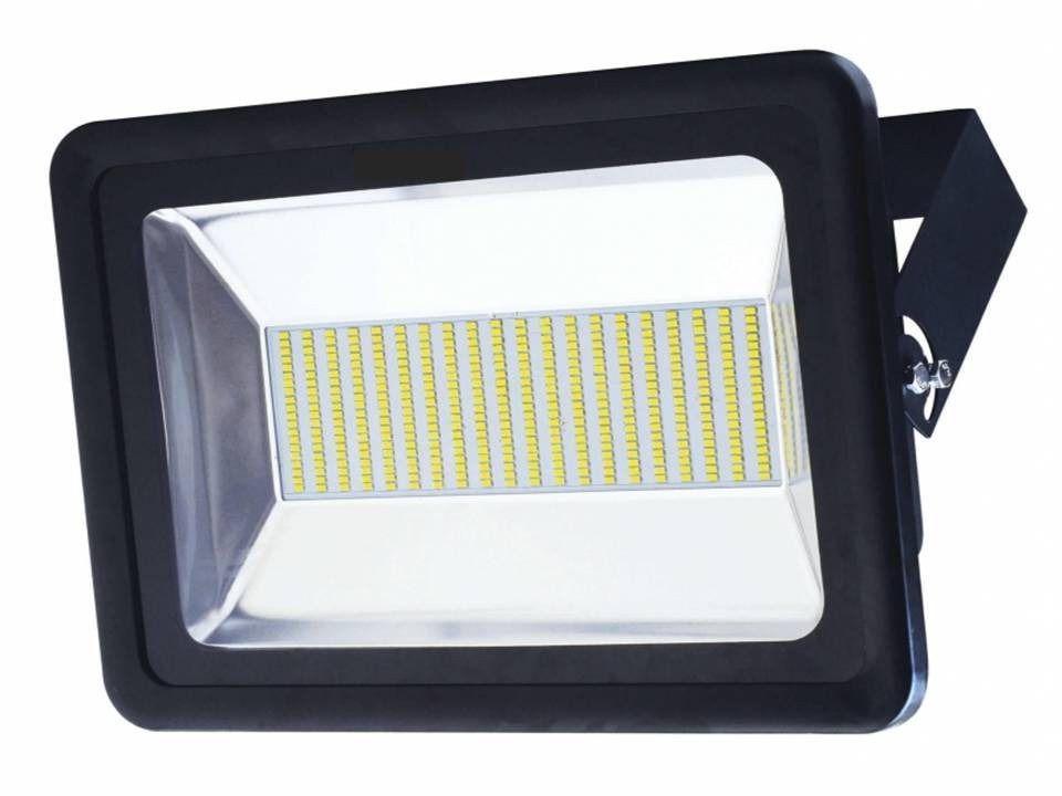 Refletor Holofote Led SMD 500W Branco Frio Preto