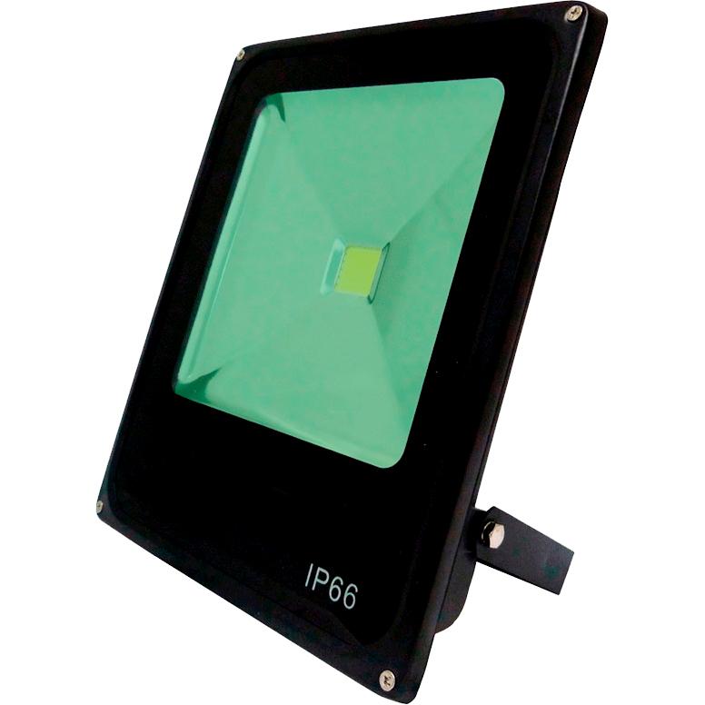 Refletor Led 10W Verde Uso Externo