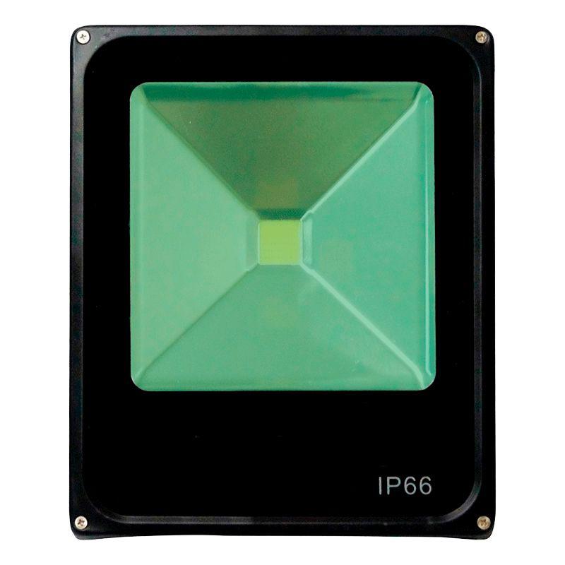 Refletor Led 30W Verde Uso Externo