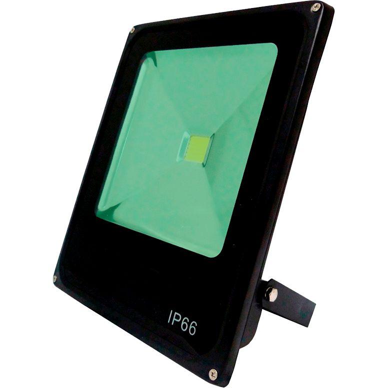 Refletor Led 50W Verde Uso Externo