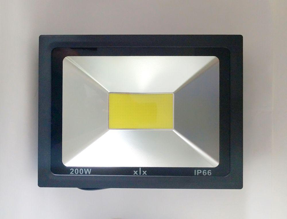 Refletor Led COB 200W Branco Frio Uso Externo