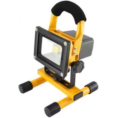 Refletor LED de Camping Portátil 20W Uso Externo