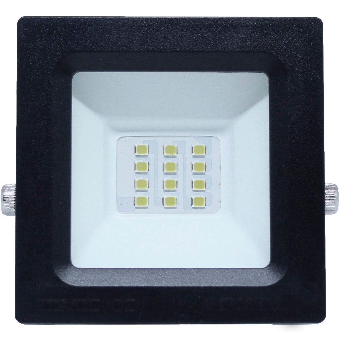 Refletor Led ECO 20W SMD Branco Frio Uso Externo