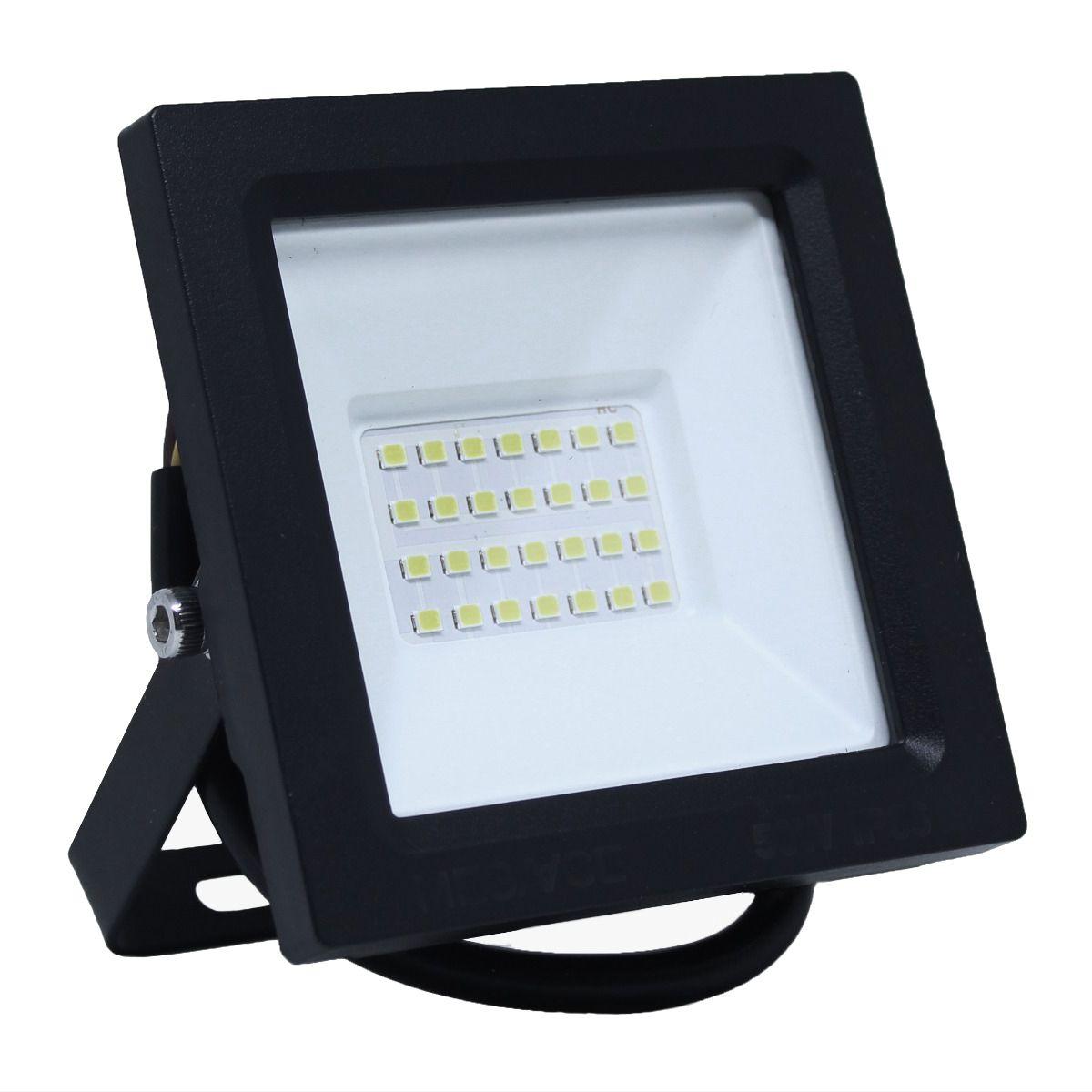 Refletor Led ECO 50W SMD Branco Frio Uso Externo
