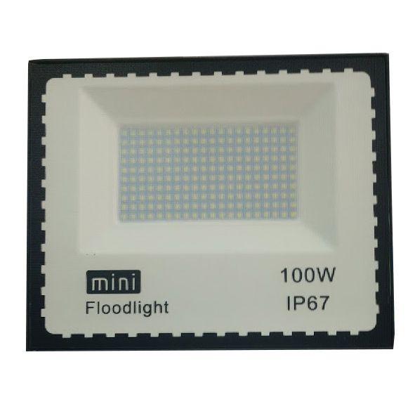 Refletor Led Modelo Moderno 100W Branco Frio Uso externo
