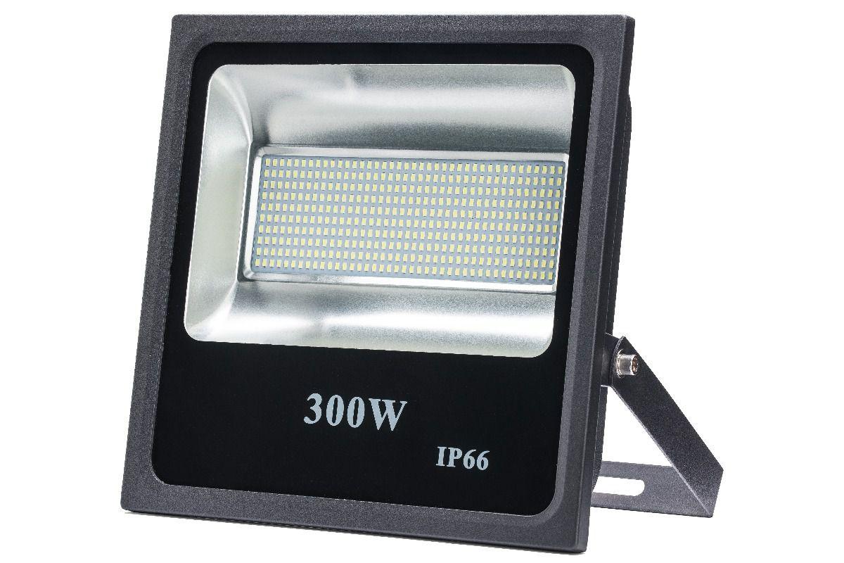 Refletor Led SMD 300W Branco Frio Uso Externo