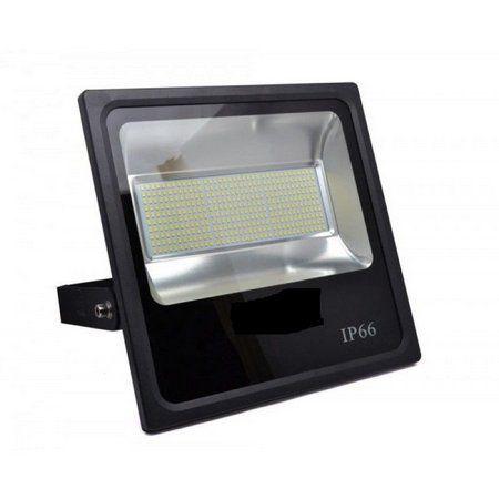Refletor Led SMD 400W Branco Frio Uso Externo