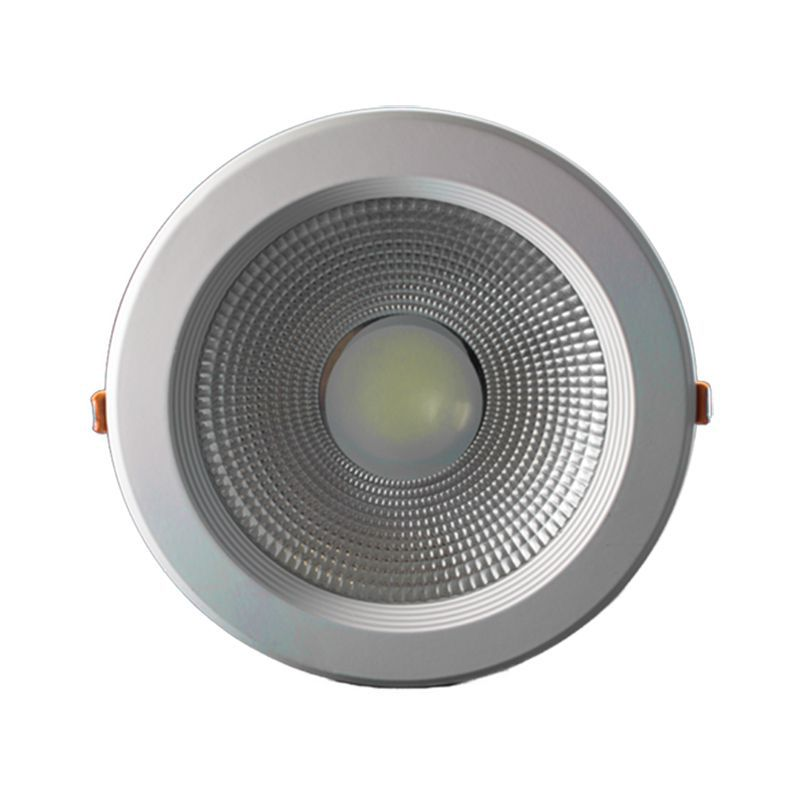 Spot LED COB 24w Embutir Redondo Branco Frio