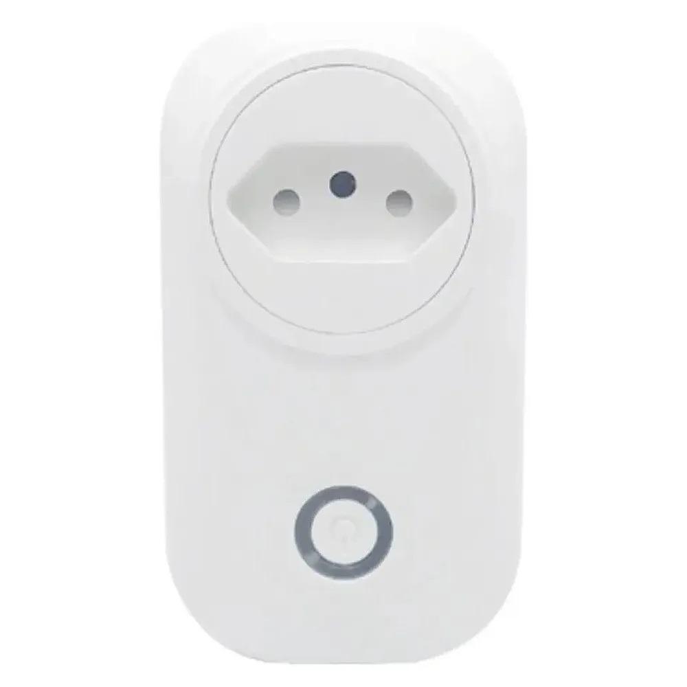Tomada Inteligente Wi-Fi Smart Plug Alexa e Google Assistant