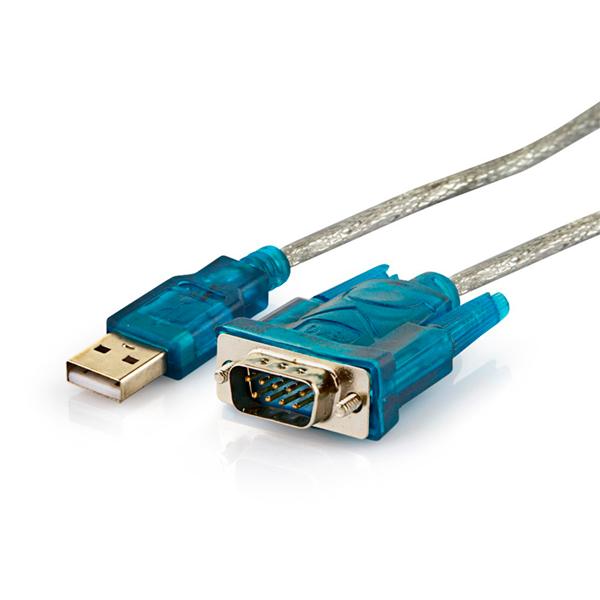 Cabo Conversor USB 2.0 Para Serial RS232 MD9  - Mega Computadores